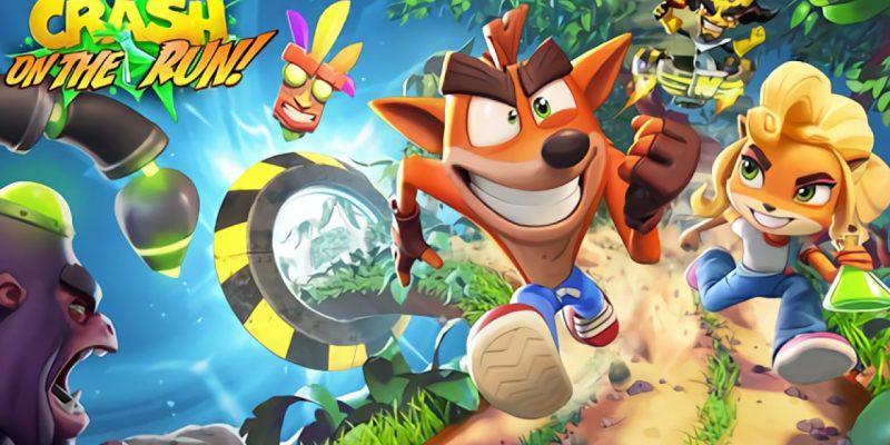 Crash Bandicoot: On the Run! – MOBILNÍ HRY – Crash je zpátky!