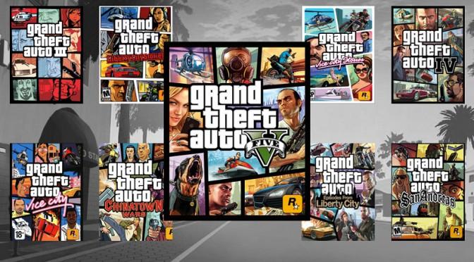 Srovnání herní série GTA