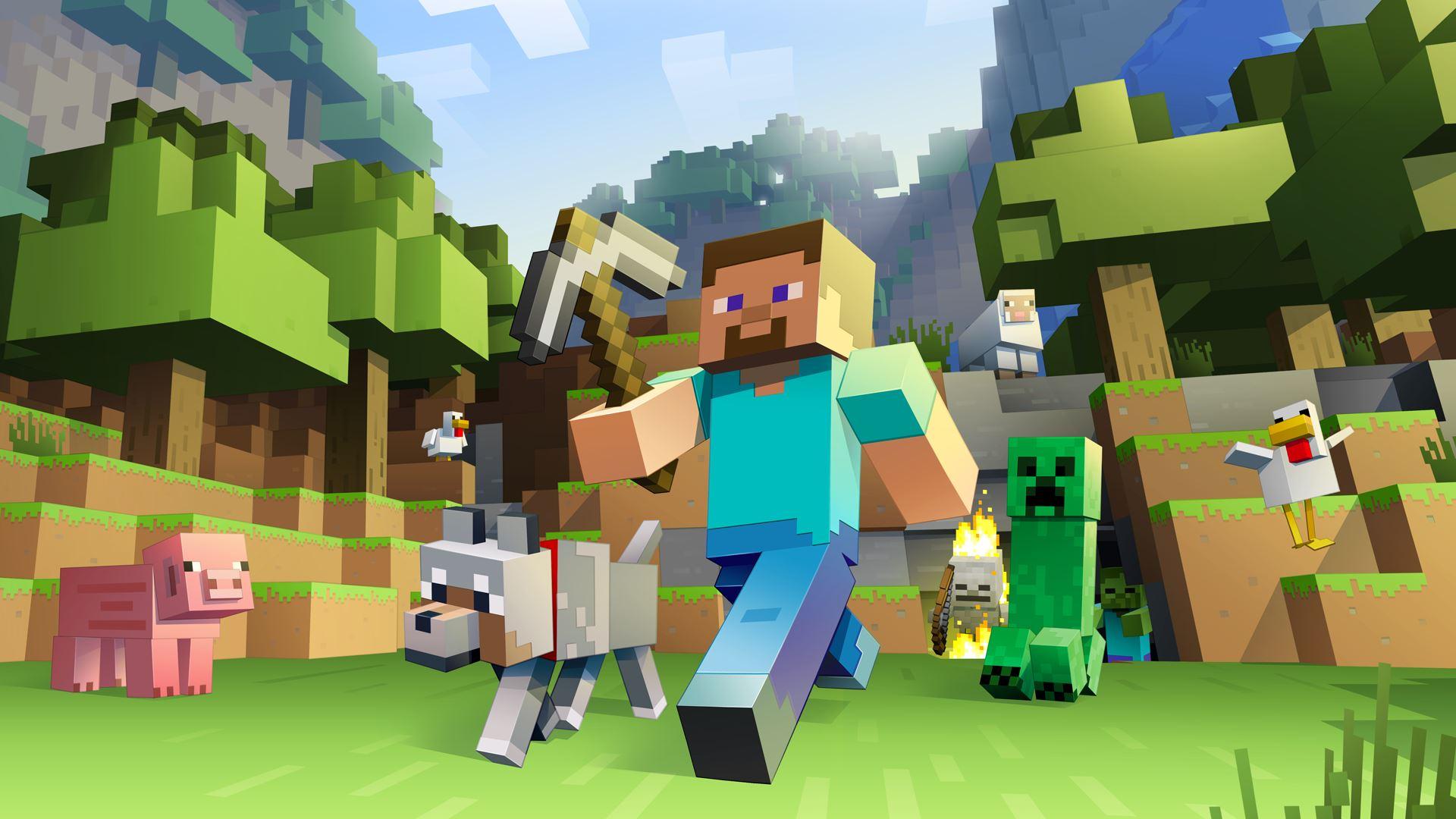 Minecraft – RECENZE – Kostičky, kam se podíváš